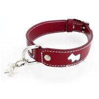 Red dog collar