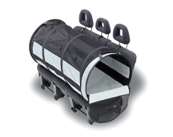 Dog tube for car travel